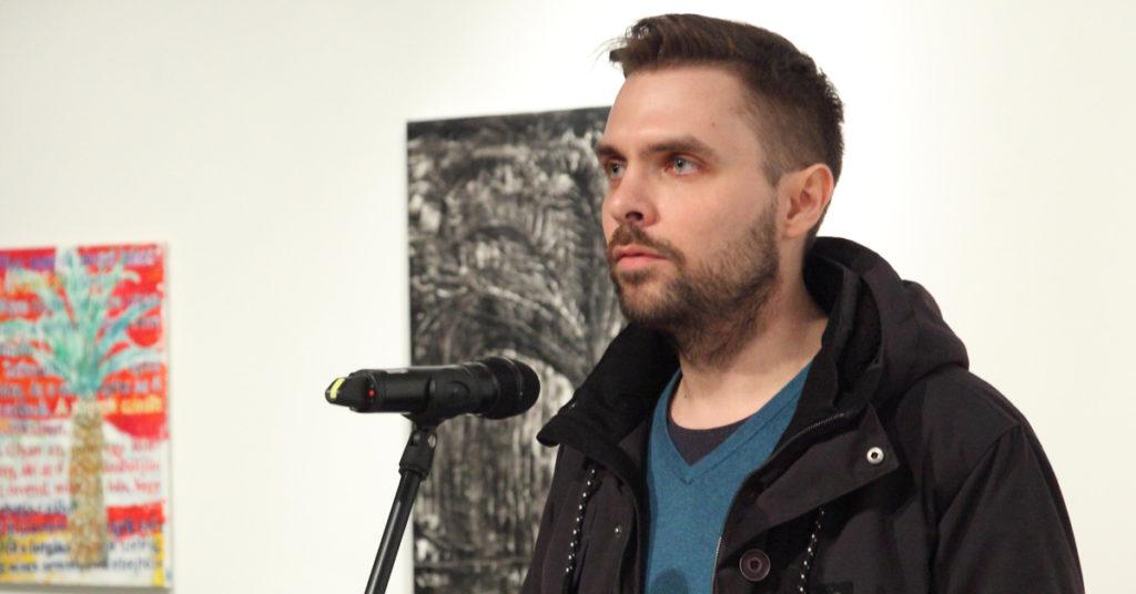 Határhelyzetek – Ádám Zoltán kiállításmegnyitója