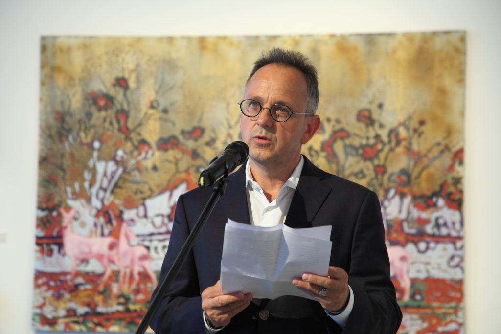 Bús Balázs beszéde Szigeti Tamás kiállításmegnyitóján